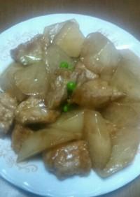 俺流!大根と豚肉の中華風うま煮