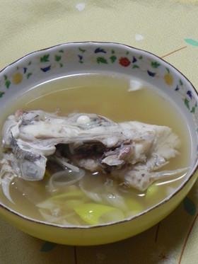 鯛のあら汁・簡単臭味なしレシピ
