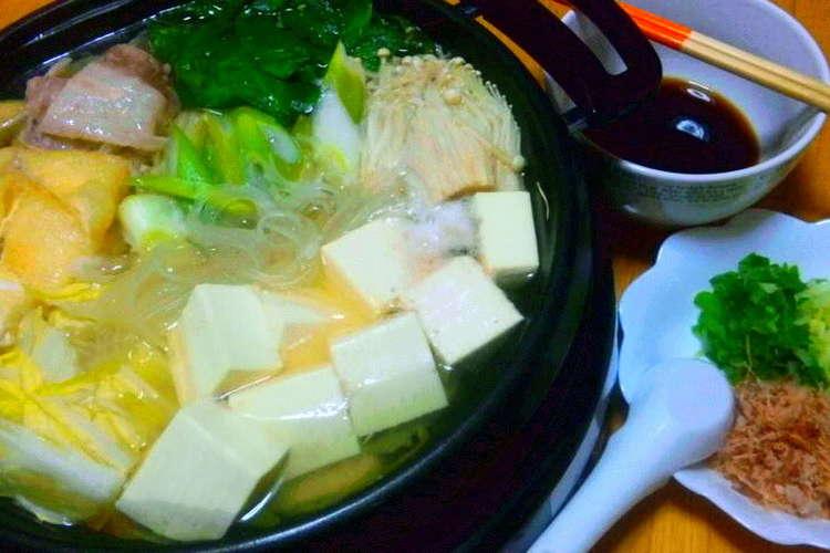 具 材 湯豆腐 湯豆腐の作り方!簡単おすすめの美味しい湯豆腐の具材は!