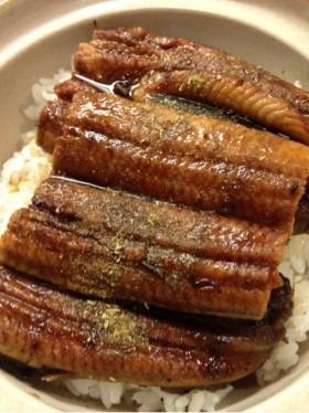 冷凍の鰻の温め方・ふっくら出来ます♬