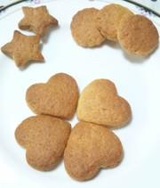 簡単!ホットケーキミックスでクッキー作りの写真