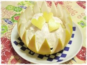 晩白柚(ばんぺいゆ)飾り切り
