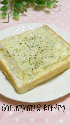 *オリーブオイルdeしらすトースト*