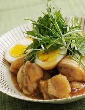 鶏もも肉のさっぱりとろとろ煮