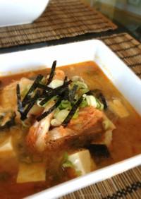 脂肪燃焼★豆腐のキムチスープ