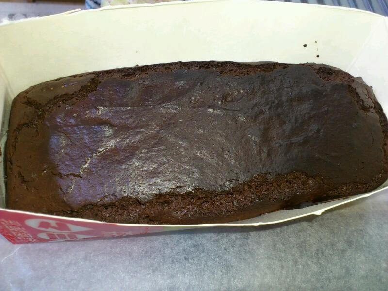 失敗生チョコ活用チョコケーキ