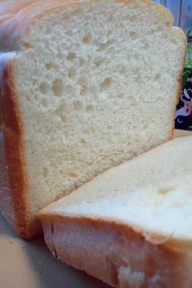 HB で 米粉と塩麹のふんわり食パン♡