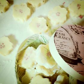 春待ち♪桜&ホワイト生チョコ