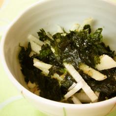 シャッキリ長芋韓国風