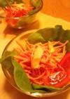 ササミの中華サラダ