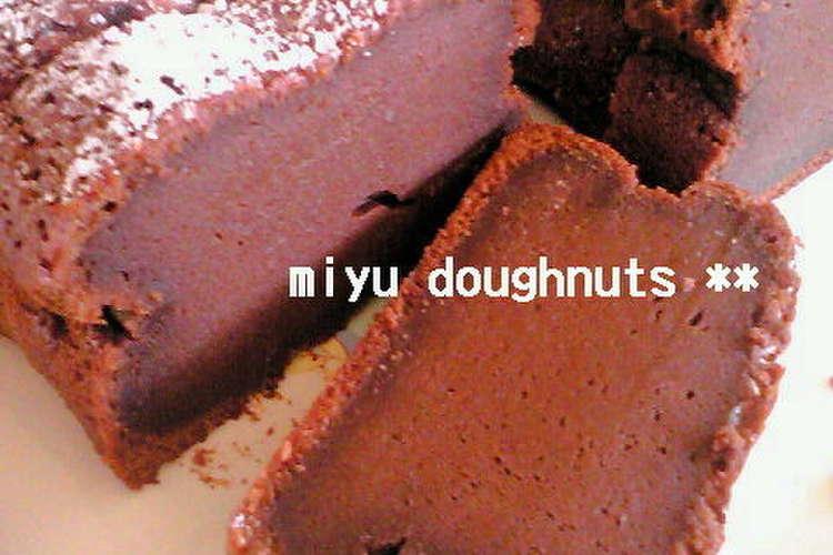 チョコ レシピ 簡単