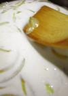 フライパンでインスタントなホワイトソース