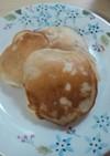 卵・牛乳不使用☆バナナりんごホットケーキ