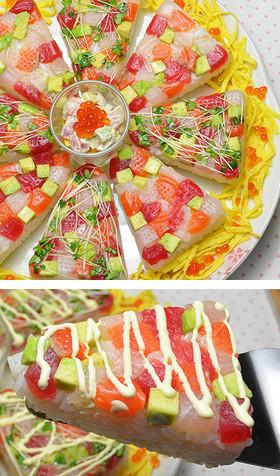 海鮮ちらし寿司☆ひな祭り・子供の日に♪