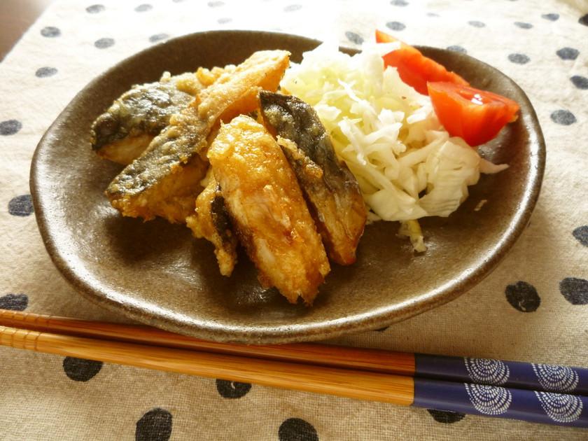 魚嫌いさんへ~鯖の竜田揚げ*カレー味