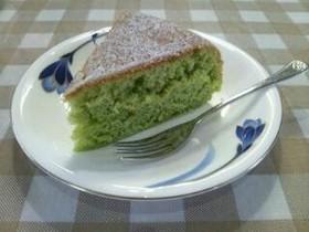 炊飯器でHMはちみつ入り青汁ケーキ