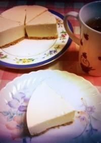 水切りなし☆レアチーズケーキ