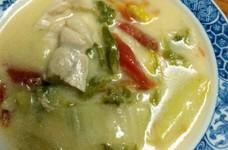 白菜と豚ロースのクリーム煮