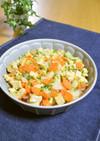 高野豆腐とたっぷり野菜の玉子炒め♬