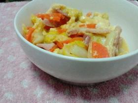 あと1品!簡単☆白菜と人参と卵の中華炒め