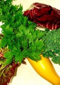 イアリア野菜のR−1ソースサラダ
