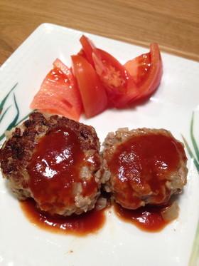 絹豆腐で☆やわらか〜美味しいハンバーグ♪