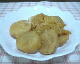 サツマイモのブラウンシュガー煮