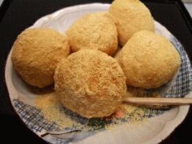 和菓子☆きな粉だんごの作り方
