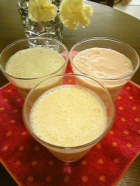 豆乳ヨーグルトのフルーツドリンク