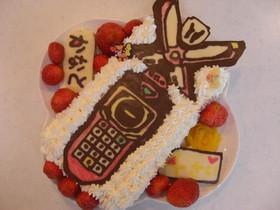 ゴーカイジャーモバイレーツのキャラケーキ
