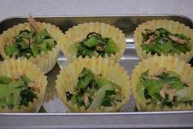 冷凍保存お弁当★チンゲン菜とツナ炒め