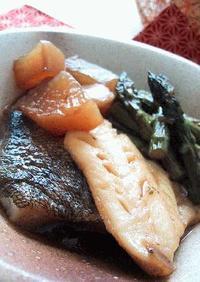 リサイクル煮魚。