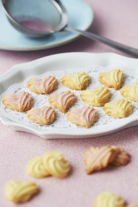 バター好きの♪簡単ハート絞り出しクッキー