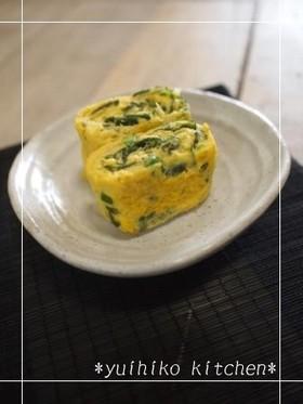 *お弁当に✿ネギわかめ卵焼き✿*