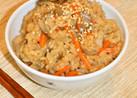 豚の角煮♡リメイク♡舞茸の炊き込みご飯