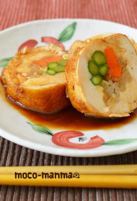 ヘルシー♪鶏むねの照り焼き野菜ロール
