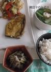 カレーな鯖の野菜蒸し定食