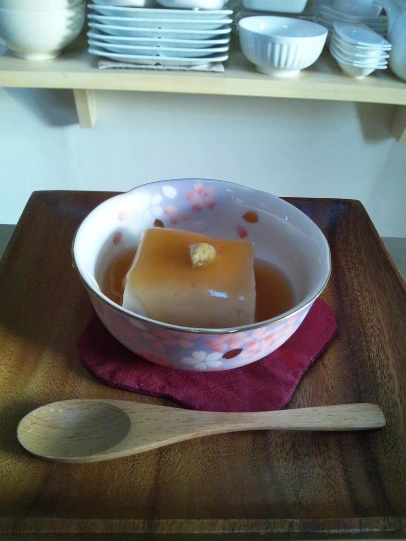ごどうふ(豆乳豆腐)