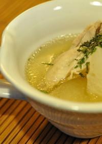 蕪と鶏肉のすっきり和風スープ♡