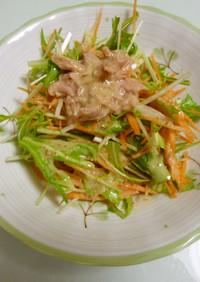 野菜たっぷり★水菜サラダ