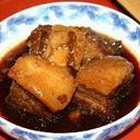 缶チューハイで煮る豚の角煮