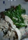 緑とむね肉 レンジで簡単サラダ!!