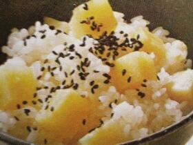 炊き込みご飯☆薩摩芋ご飯