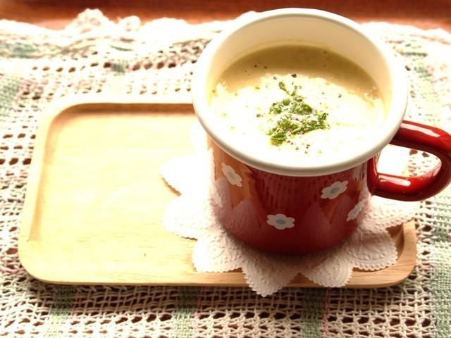 豆乳コーンクリームスープ