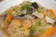 鮭とエリンギのみぞれ煮