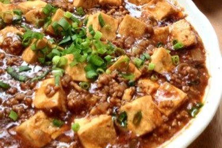 簡単 マーボー 豆腐