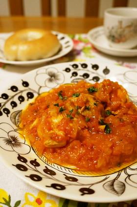 鶏のトマト煮込み*チキンカチャトーラ