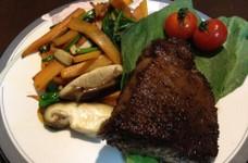 超シンプル!素材を活かした和牛のステーキ