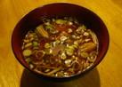 豆腐とえのき茸の赤だし