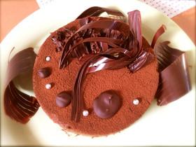 うちのチョコレートムース♪